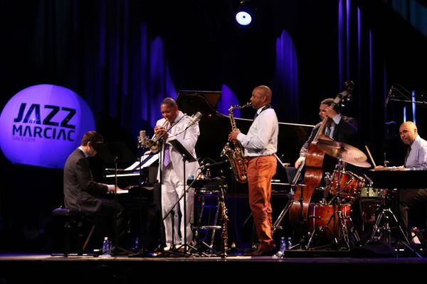 Winton Marsalis et son Quintet sur la scène de Jazz in Marciac en 2018