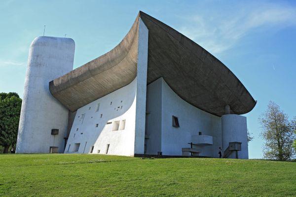Chapelle de Ronchamp, icône de l'architecture moderne