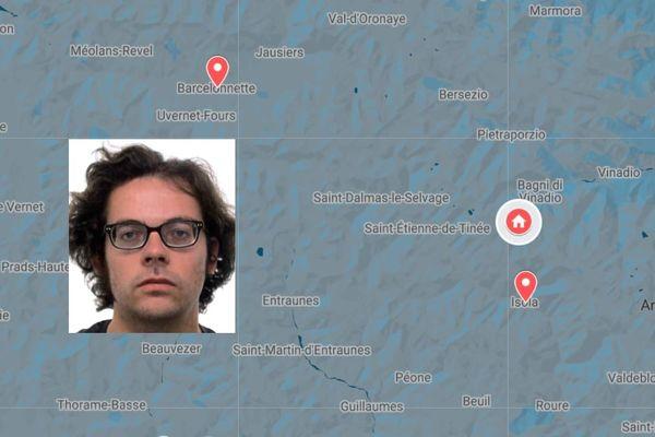Un randonneur belge a disparu entre Isola dans les Alpes-Maritimes et Barcelonnette dans les Alpes de Haute-Provence depuis le 14 août.