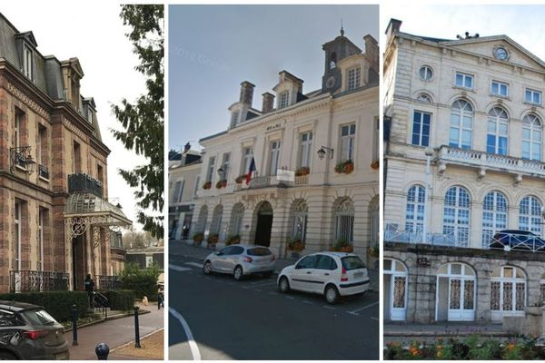 Les mairies de Dreux, Châteaudun et Nogent-le-Rotrou, en Eure-et-Loir. Photo d'illustration