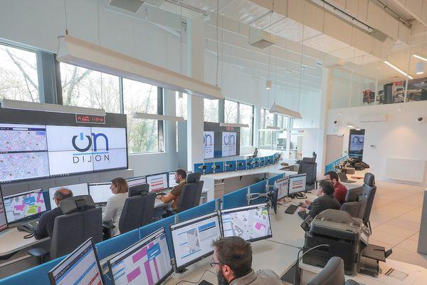 Le centre de pilotage a remplacé les six sites qui existaient auparavant (photo prise avant la crise de covid-19).
