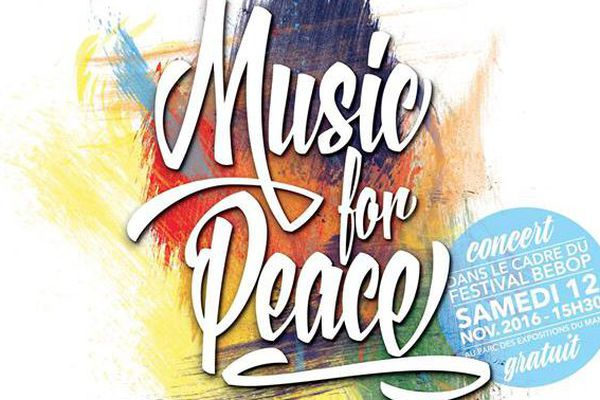 12 artistes seront sur scène pour promouvoir la paix.