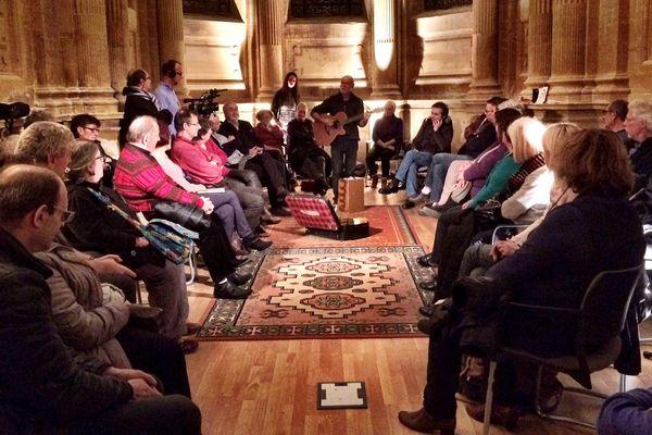 Première réunion de l'université populaire à Hayange le 8 novembre 2016