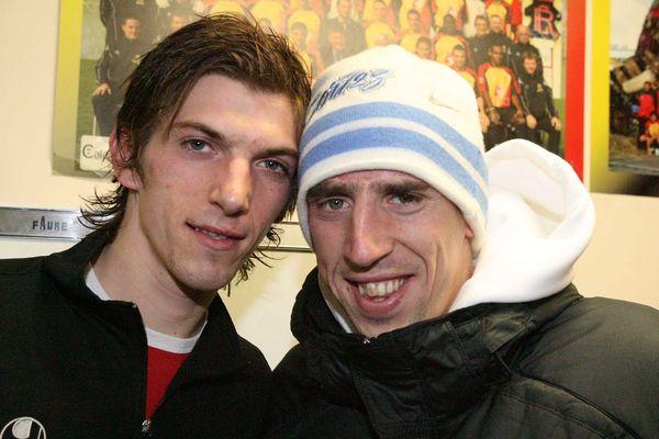 François et Franck Ribéry, en 2008.