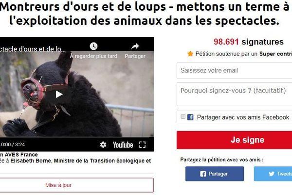La pétition lancée par deux associations est proche des 100 000 signatures.