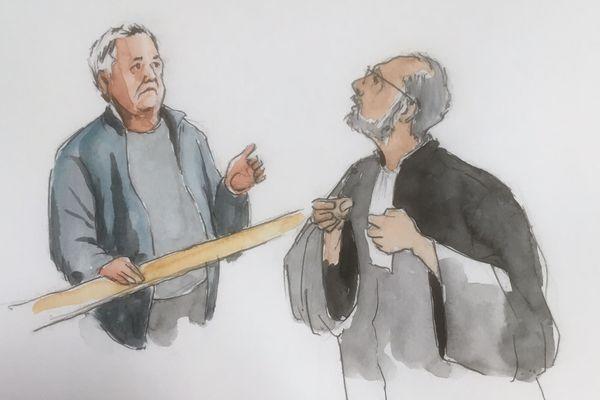 La plaidoirie au procès Pascal Jardin