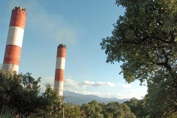 Illustration. La centrale électrique du Vazzio.