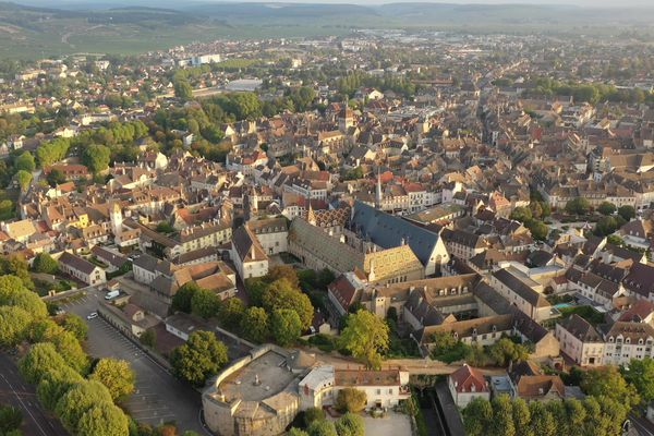 La ville de Beaune, en septembre 2020.