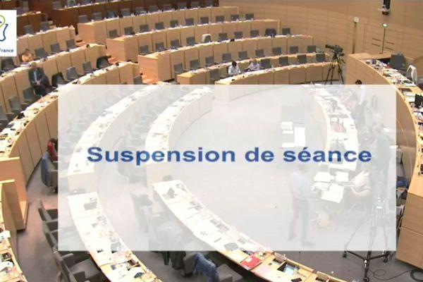Suspension de séance jeudi au conseil régional des Hauts-de-France après des propos tenus par le RN sur Philippe Rapeneau.