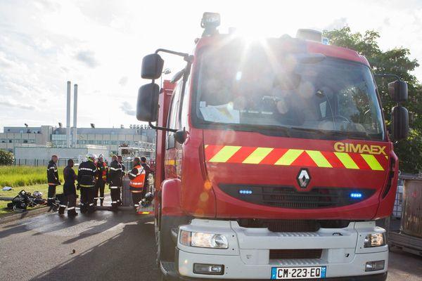 Le feu s'est déclaré sur la plateforme chimique classée Seveso du groupe Flint France.