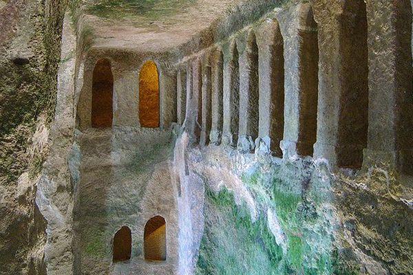 L'église souterraine d'Aubeterre-sur-Dronne, l'un des lieux les plus visités en Charente pendant cet été 2013
