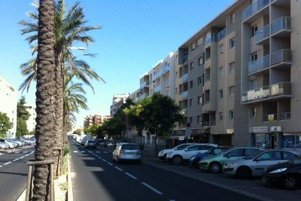 C'est à proximité de ce boulevard à Perpignan que la jeune femme a été violée.juin 2014.
