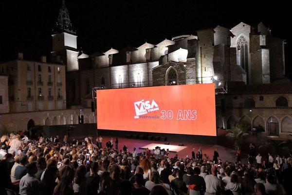 A Perpignan, les soirées Visa pour l'image sont entièrement gratuites.
