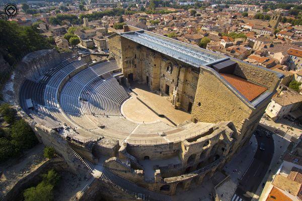 Le Théâtre Antique d'Orange est le théâtre romain le mieux conservé en Occident.