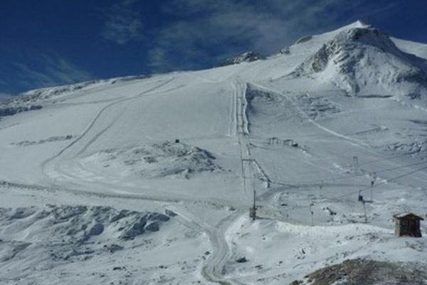 Les pistes ont ouvert sur le glacier de la Motte.