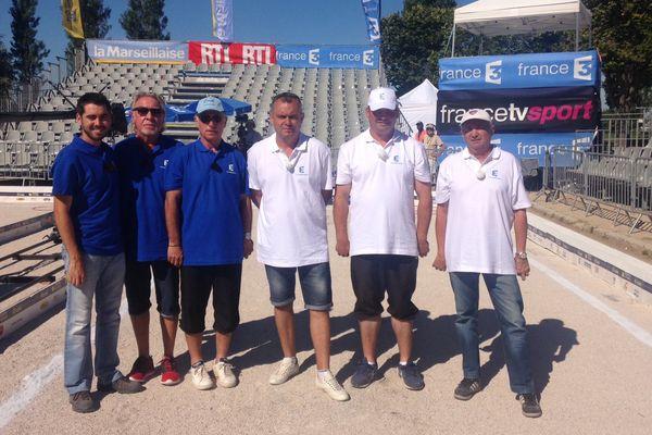 L'équipe de Thierry Grandet se qualifie pour les quart de finale.