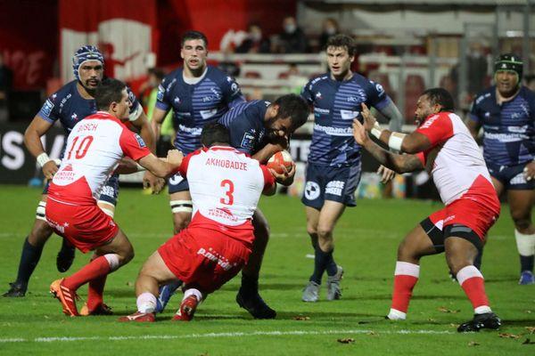 Le 07/11/2020 - Rugby, 9e journée de Pro D2 : Biarritz-Vannes