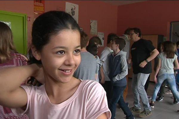 Le programme Dancem in Collegi permet aux petits occitanistes de pratiquer l'occitan aussi en dansant !