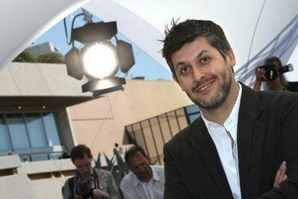 Le cinéaste et metteur en scène Christophe Honoré. Ici au Festival de Cannes.