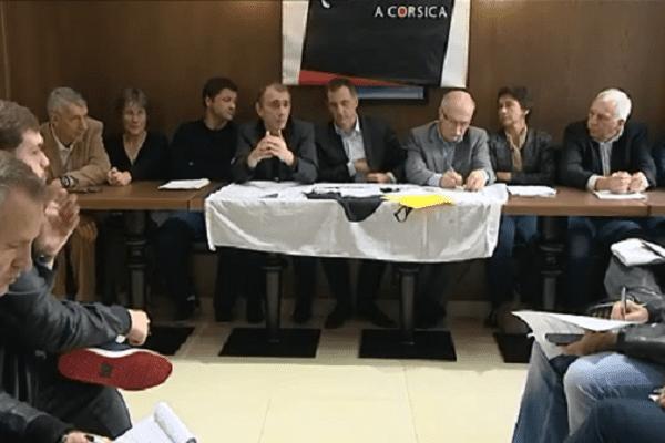 Les élus de Femu a Corsica ont organisé une conférence de presse ce mercredi.