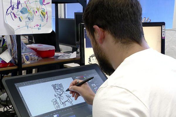 Le studio d'animation INTHEBOX à Annecy
