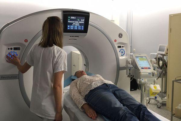 Après 12 ans d'attente, l'hôpital de Brioude en Haute-Loire dispose enfin d'un scanner.