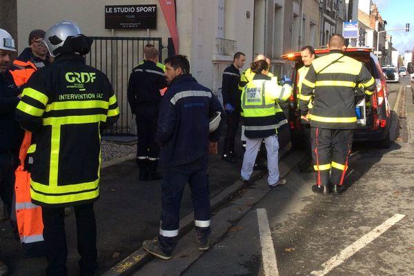 Les agents de GRDF et les services de secours sont sur place.