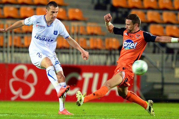 Le match a tenu toutes ses promesses face à l'AJ Auxerre.