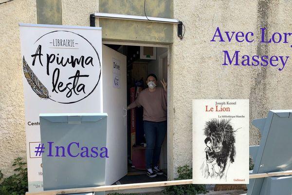 La libraire bastiaise a choisi Le Lion, de Joseph Kessel, aux éditions Gallimard