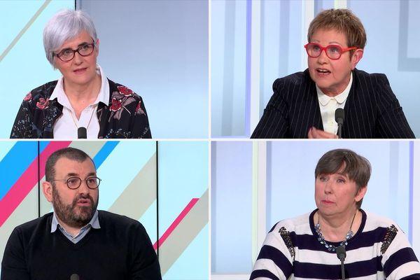 Véronique Genelle, Michelle Demessine, Rémi Lefebvre et Françoise Prouvost tentent d'apporter des solutions à la sous-représentation des femmes dans les municipalités.