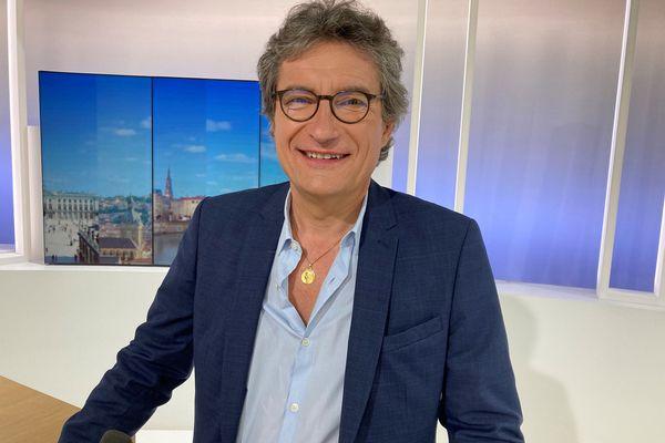 François Pélissier, président de la CCI 54, invité dans le JT de midi