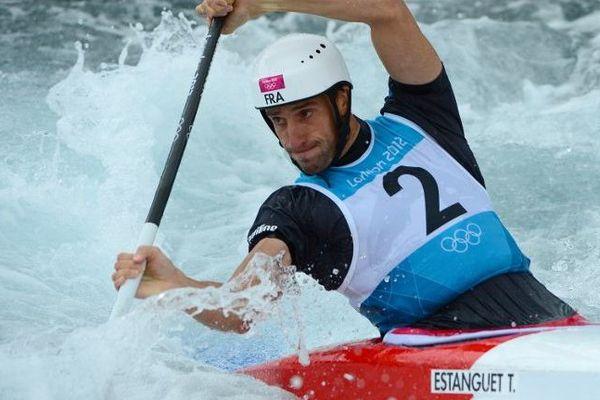 A Londres en 2012, Tony Estanguet est champion olympique pour la troisième fois.