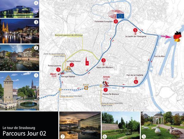 Dimanche 2 septembre : randonnée autour de Strasbourg