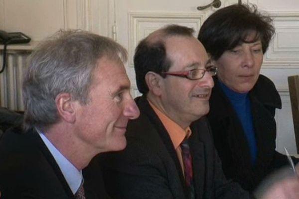 Jean-Jacques Hazan à la mairie de Frontignan