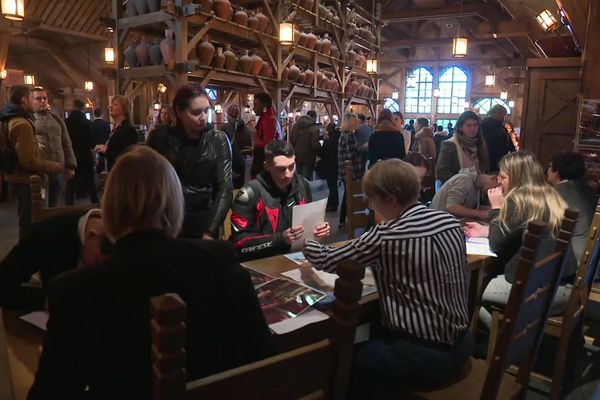 Le forum de l'emploi organisé ce samedi 18 janvier au parc Astérix, à Plailly.
