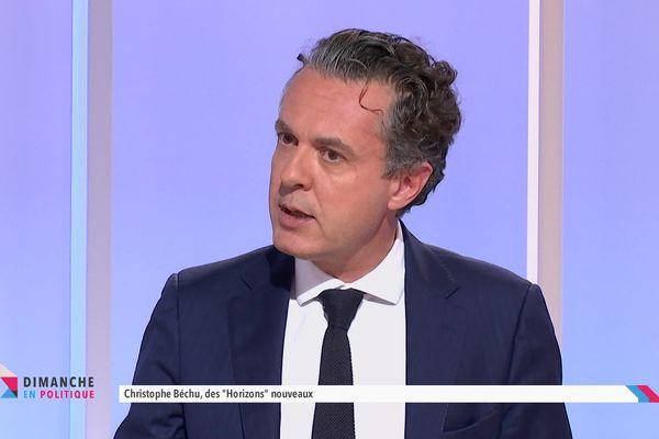 Le maire d'Angers Christophe Bechu était l'invité de Dimanche en Politique, ce dimanche 10 octobre, sur France 3 Pays de la Loire.