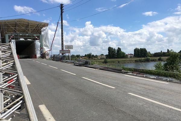 Les ponts de Thouaré-sur-Loire rouvrent le 25 août 2017