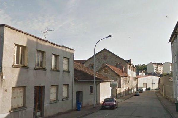 Rue du Mas-Loubier à Limoges