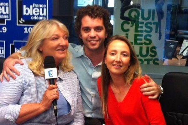 """Charlotte de Turckheim, Audrey Lamy et Bruno Lopes à Orléans pour la sortie du film """"Qui c'est les plus forts ? """""""
