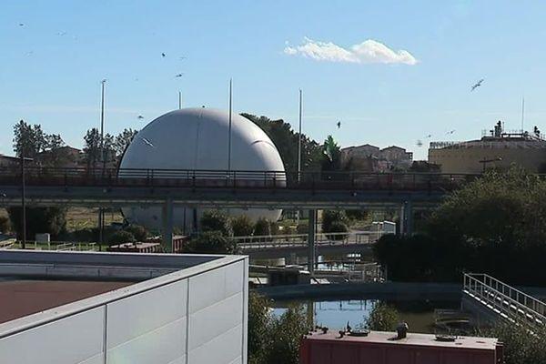 Le centre de traitement des eaux Maera de Montpellier - Mars 2018