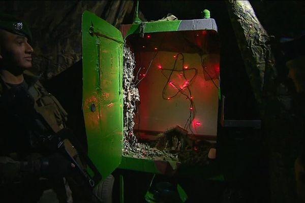 Au camps de Carpiagne, La Légion Étrangère se prépare à fêter Noël