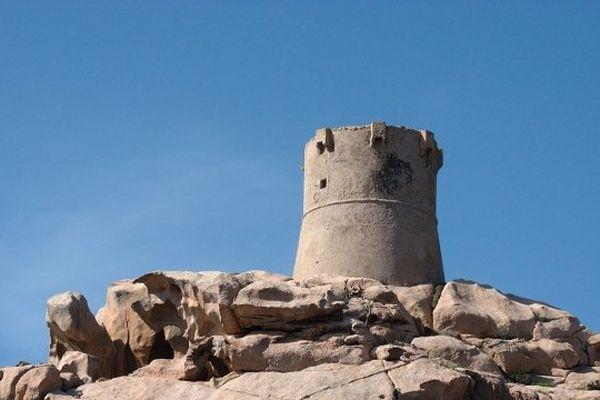 ILLUSTRATION - La tour de Senetosa (Corse-du-Sud)