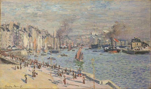 Le Port du Havre, Claude Monet.