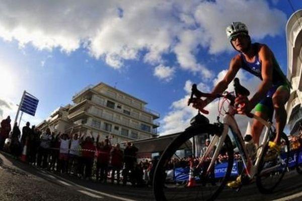 La course élite internationale du Triathlon Audencia La Baule