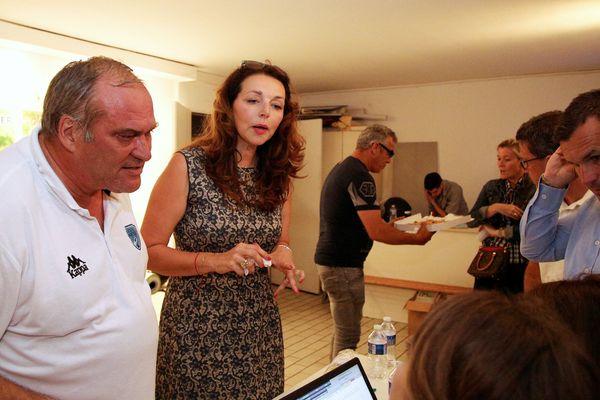 Valérie Boyer députée LR sortante de la 1ère circonscription des Bouches-du-Rhône, à Marseille.