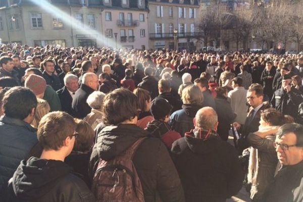 2 000 personnes rassemblées à Mende