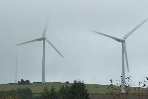 Les éoliennes du Margnès au coeur des débats.