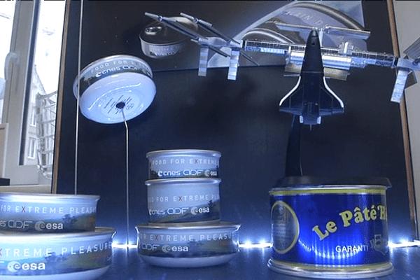 Des plats cuisinés Hénaff pour la Station spatial internationale.