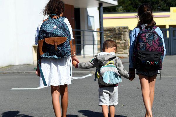 C'est l'heure de retourner à l'école pour les élèves de la région