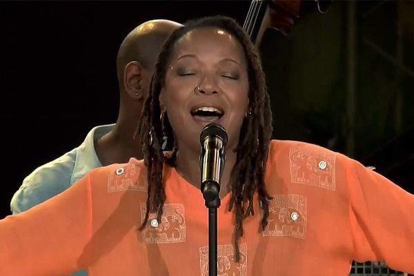 Lisa Simone au Festival Jazz à Vienne